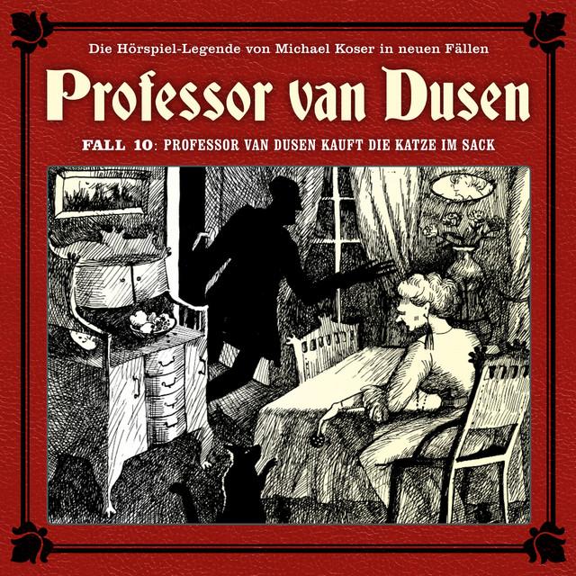Die neuen Fälle, Fall 10: Professor van Dusen kauft die Katze im Sack Cover