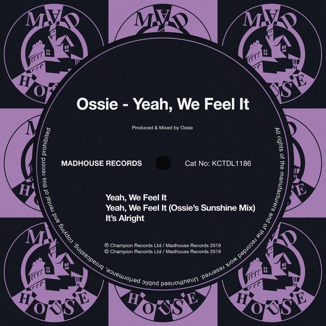 Ossie - Yeah, we feel it