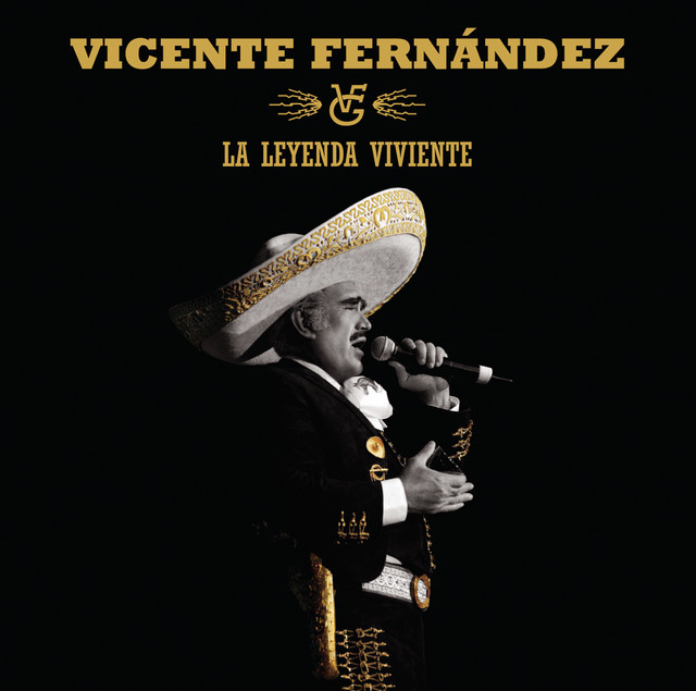 Vicente Fernandez album cover