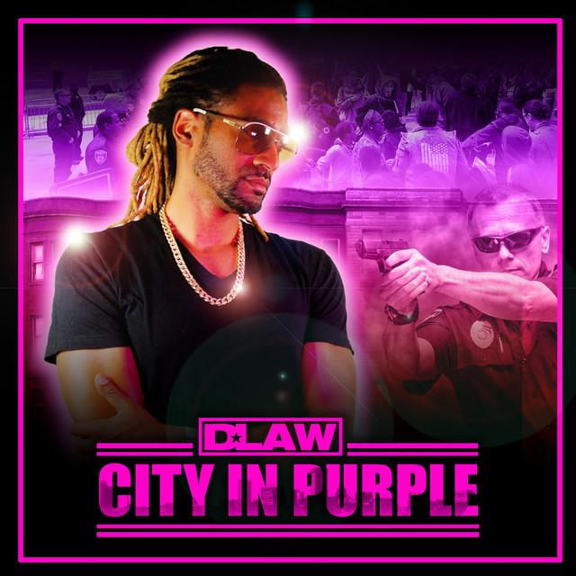 City in Purple