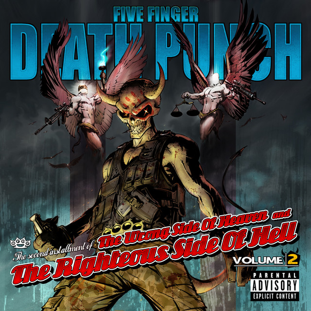 Five Finger Death Punch album cover