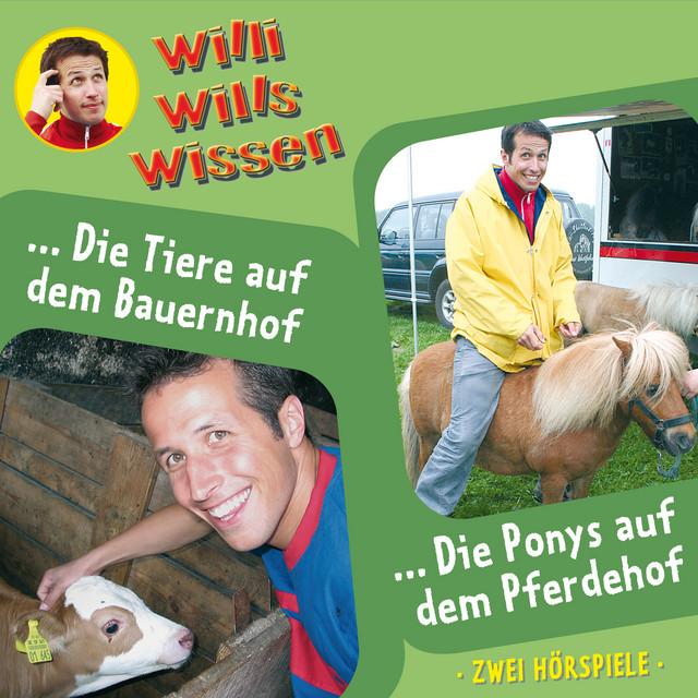 Folge 2: Die Tiere auf dem Bauernhof  -  Die Ponys auf dem Pferdehof Cover