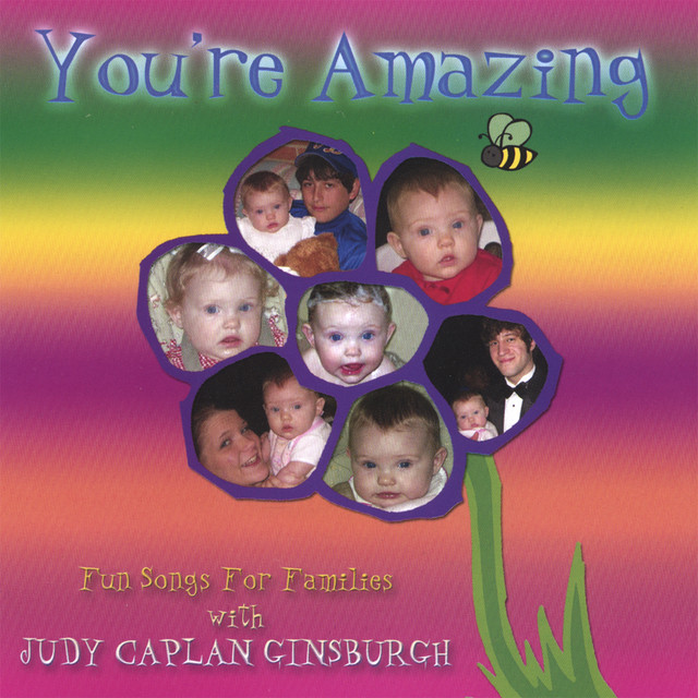 You're Amazing - Fun Songs For Families by Judy Caplan Ginsburgh
