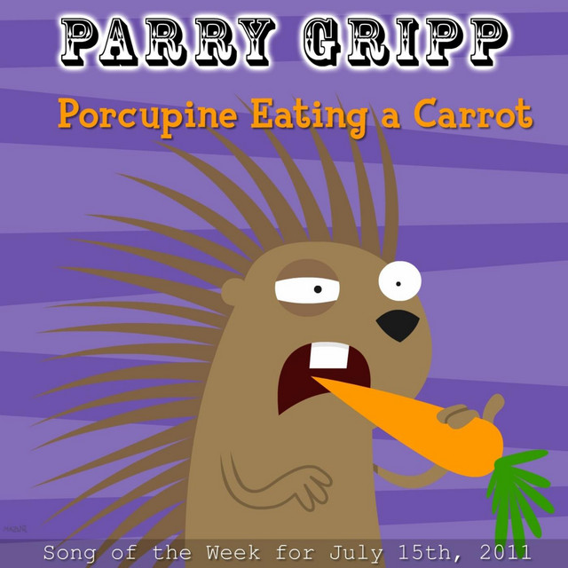 Porcupine Eating A Carrot by Parry Gripp
