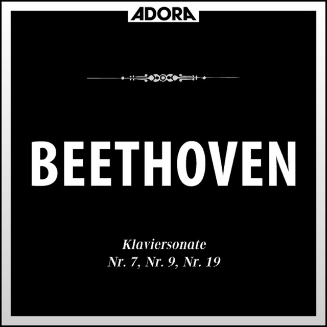 Album cover for Beethoven: Klaviersonaten No. 7, 9 u. 10 by Ludwig van Beethoven, Alfred Brendel