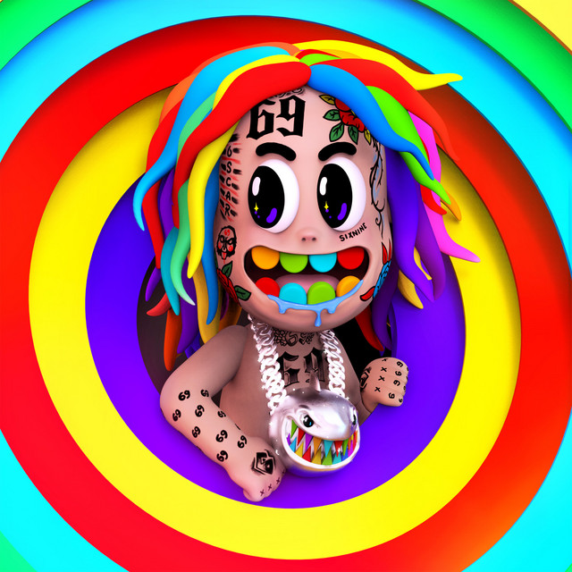 Album cover for TattleTales by 6ix9ine