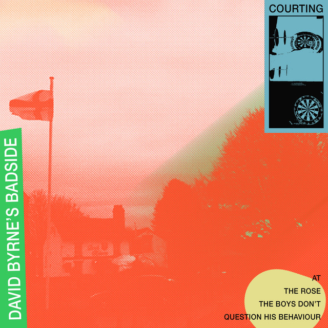 Cover art for David Byrne's Badside by Courting
