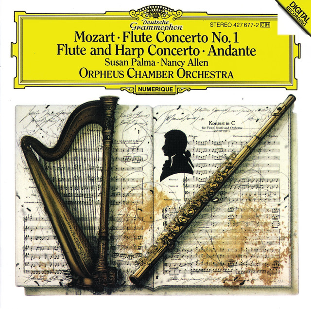 Concerto for Flute, Harp, and Orchestra in C Major, K. 299: III. Rondeau. Allegro - Cadenza: Susan Palma and Bernard Rose