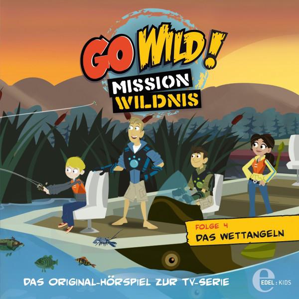 Folge 4: Das Wettangeln  -  Das Schnabeltier-Omelett (Das Original-Hörspiel zur TV-Serie) Cover