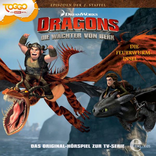 Folge 13: Die Feuerwurm-Insel  -  Orendels Feuer (Das Original-Hörspiel zur TV-Serie) Cover