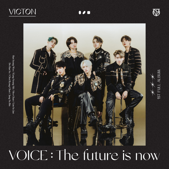 Album cover for VOICE : The future is now by VICTON