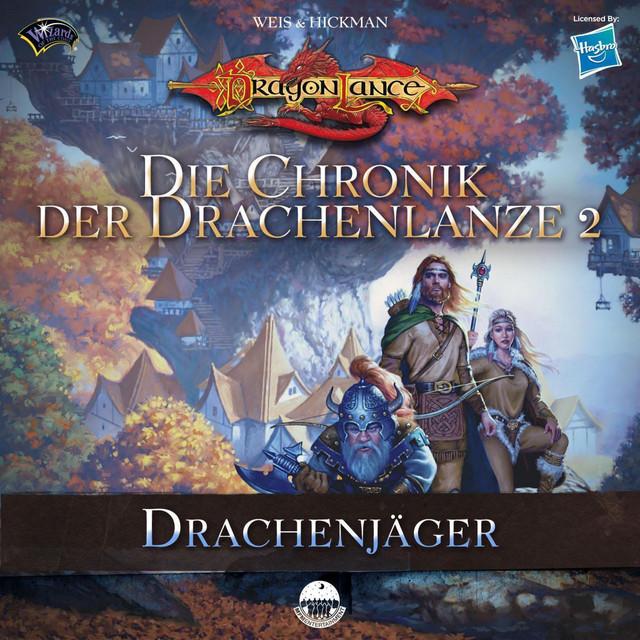 Die Chronik der Drachenlanze 2 - Drachenjäger Cover