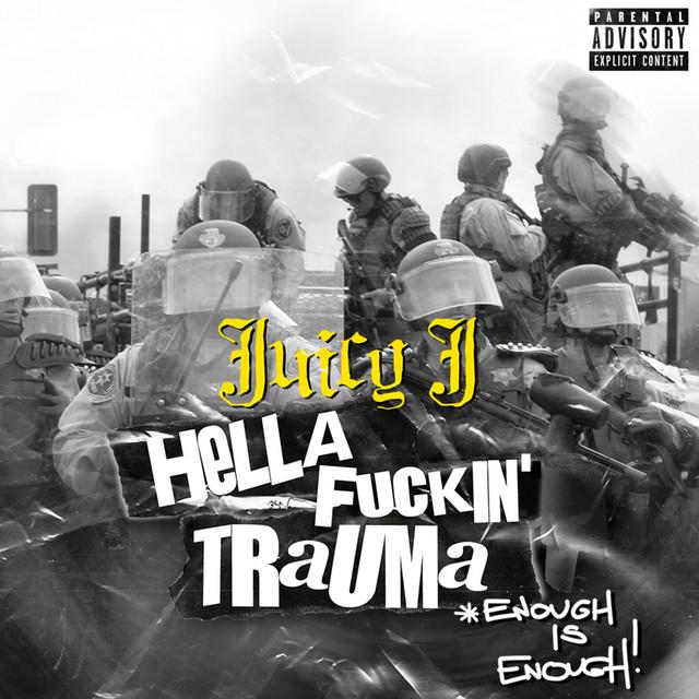 HELLA FUCKIN' TRAUMA (ENOUGH IS ENOUGH) cover art