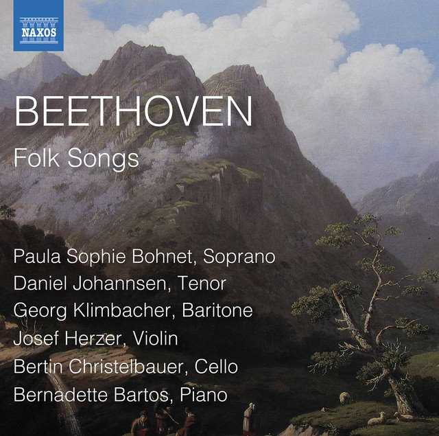 Album cover for Beethoven: Folk Songs by Ludwig van Beethoven, Various Artists