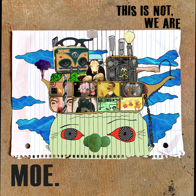 Album cover for This Is Not, We Are by moe.
