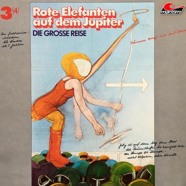 Folge 3: Rote Elefanten auf dem Jupiter Cover