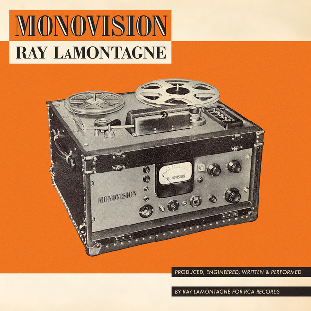 Album cover for MONOVISION by Ray LaMontagne