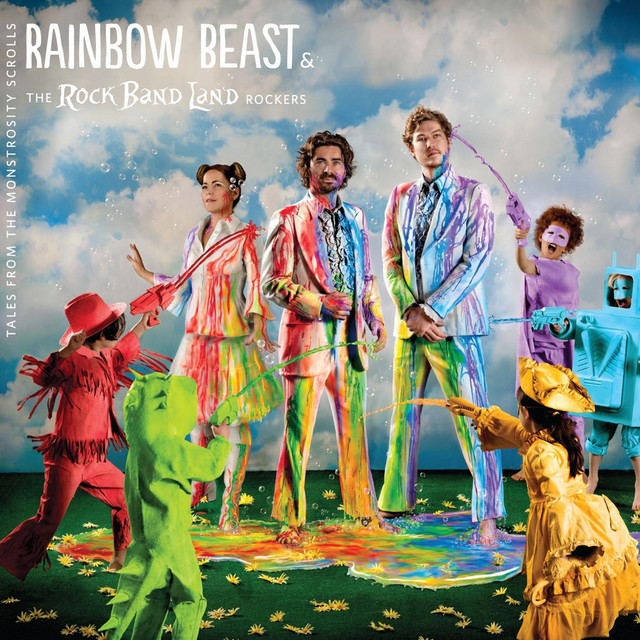 Tales from the Monstrosity Scrolls by Rainbow Beast & The Rock Band Land Rockers
