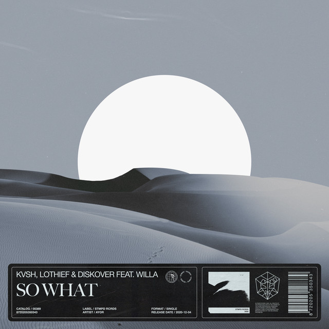 So What - Single by KVSH, LOthief, Diskover | Spotify