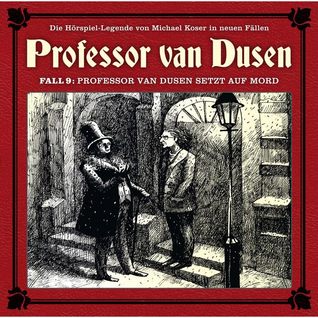 Die neuen Fälle, Fall 9: Professor van Dusen setzt auf Mord Cover