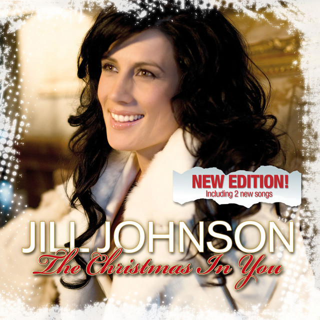 Skivomslag för Jill Johnson: The Christmas In You