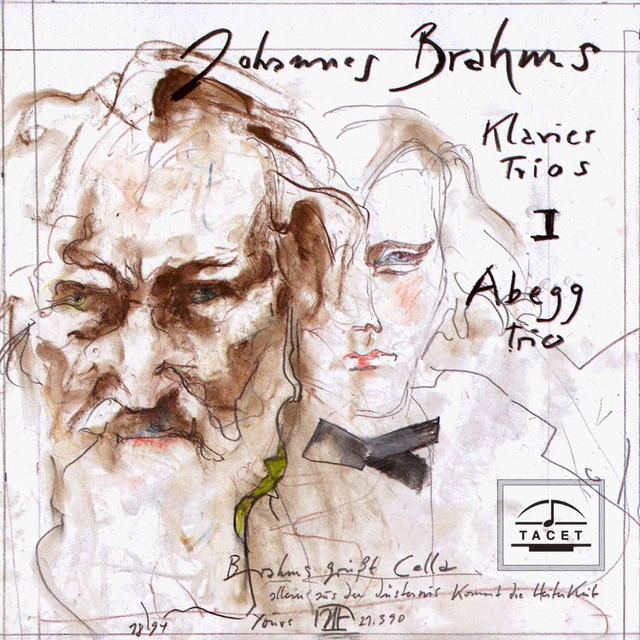 Album cover for Brahms: Piano Trios Nos. 1 & 2 by Johannes Brahms, Abegg Trio