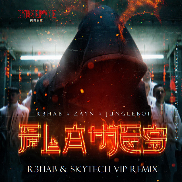 Flames (with ZAYN) [R3HAB & Skytech VIP Remix]