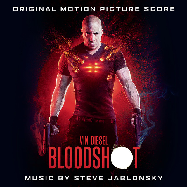 Album cover for BLOODSHOT (Original Motion Picture Score) by Steve Jablonsky