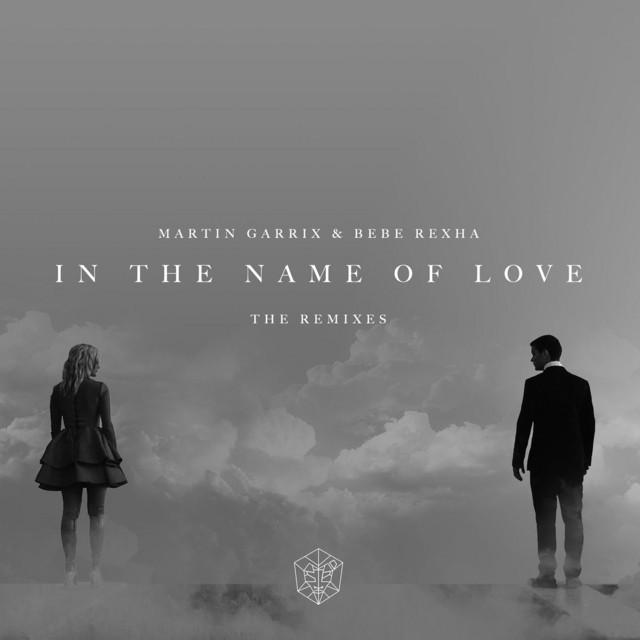 In The Name Of Love (DallasK Remix) album cover