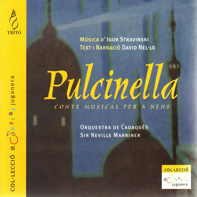 Stravinsky: Pulcinella (Orchestral and Narrated Version)