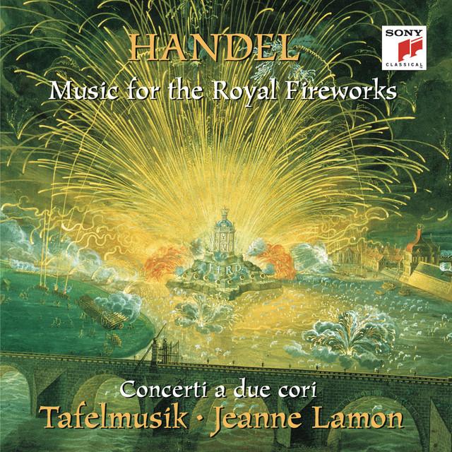 Concerto a Due Cori No. 3, HWV 334: album cover