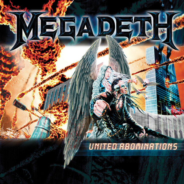 Artwork for United Abominations - 2019 - Remaster by Megadeth