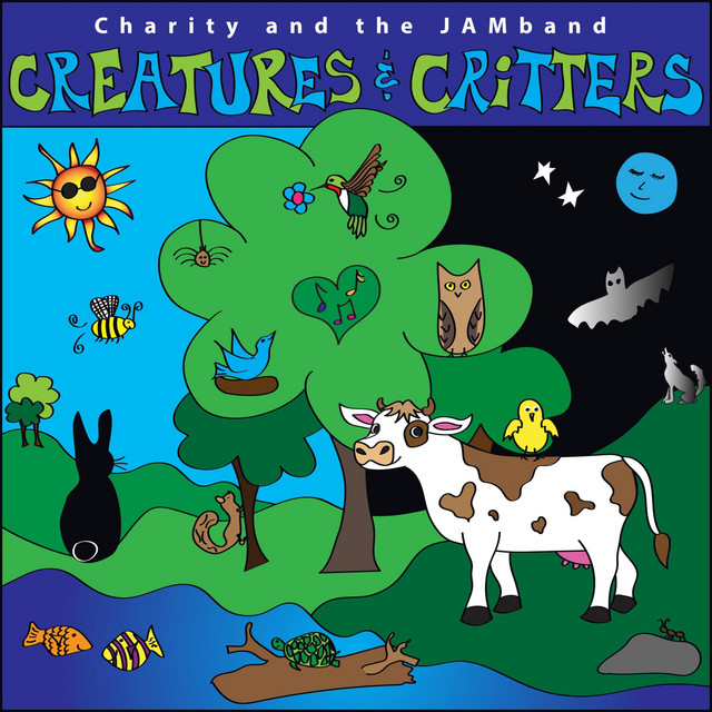 Creatures & Critters by Charity and the Jamband