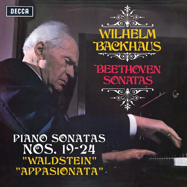 "Album cover for Beethoven: Piano Sonatas Nos. 19, 20, 21 ""Waldstein"", 22, 23 ""Appasionata"" & 24 (Stereo Version) by Ludwig van Beethoven, Wilhelm Backhaus"