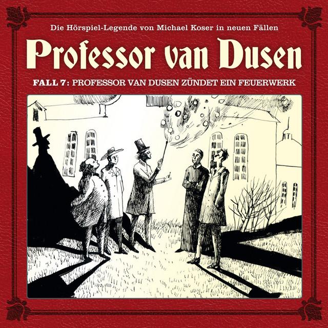 Die neuen Fälle, Fall 7: Professor van Dusen zündet ein Feuerwerk Cover