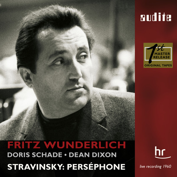 I. Stravinsky: Perséphone (1960 Live Recording with Fritz Wunderlich)