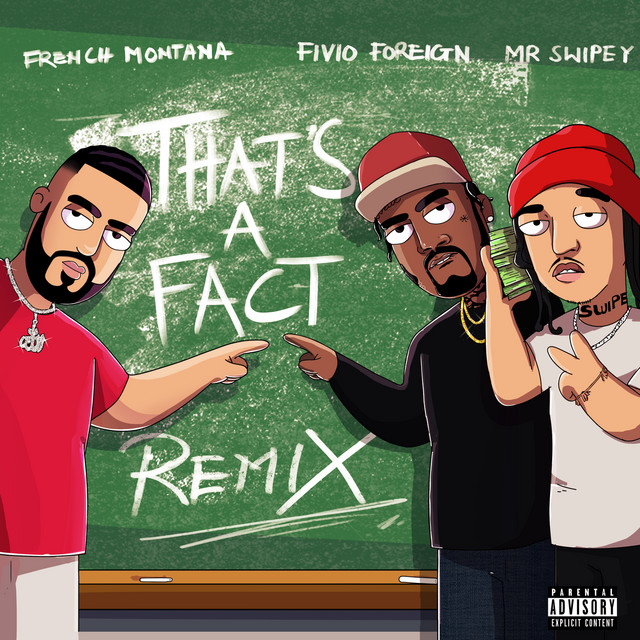 That's A Fact (feat. Fivio Foreign & Mr. Swipey) [Remix]