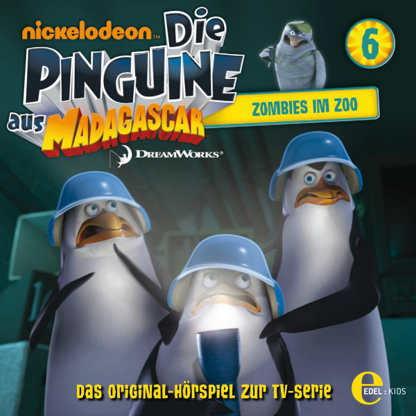Folge 6: Zombies im Zoo (Das Original-Hörspiel zur TV-Serie) Cover
