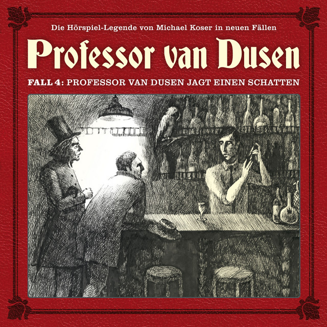 Die neuen Fälle, Fall 4: Professor van Dusen jagt einen Schatten Cover