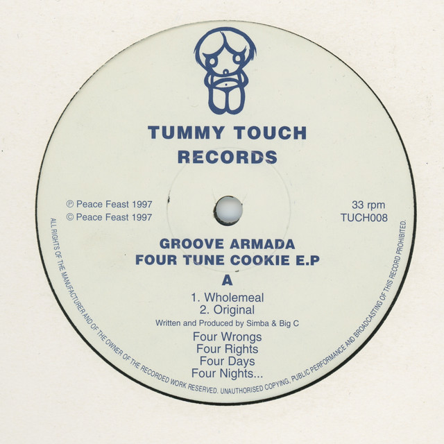 Artwork for Wholemeal by Groove Armada