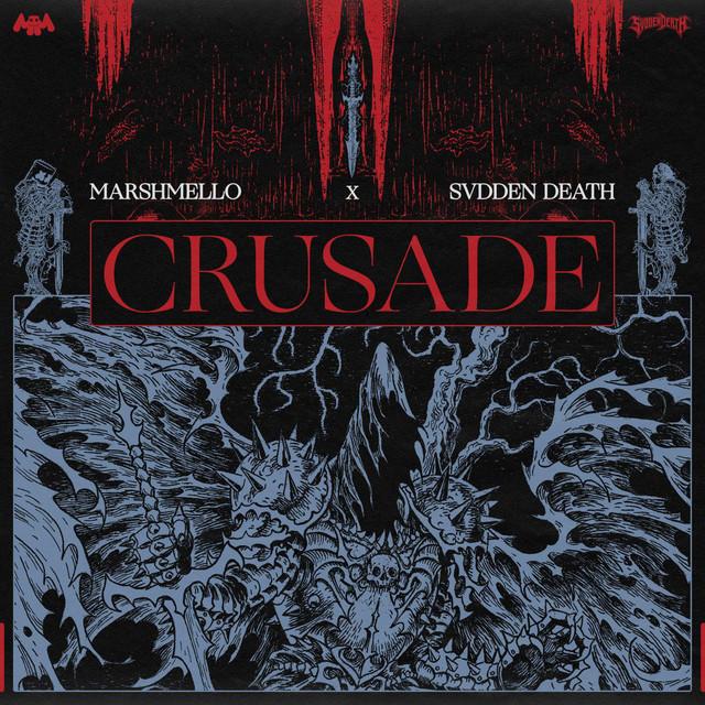 Marshmello & SVDDEN DEATH - Crusade cover