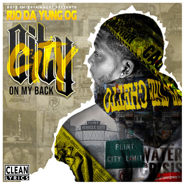 Album cover for City On My Back by Rio Da Yung Og