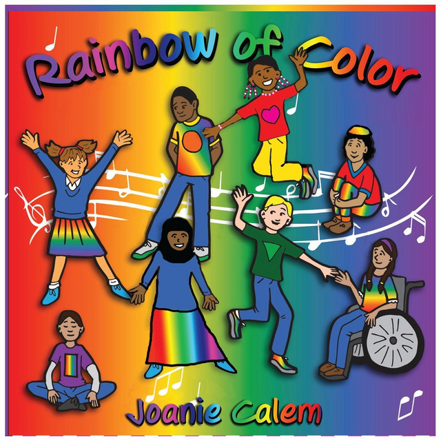 Rainbow of Color by Joanie Calem