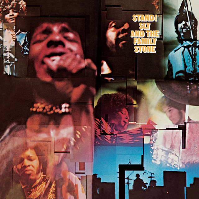 Album cover art: Sly & The Family Stone - Stand