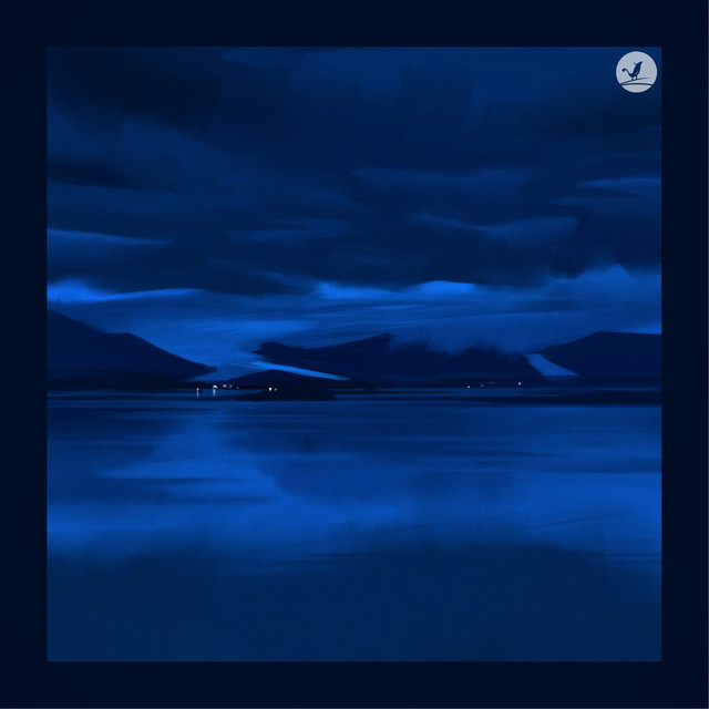 Blue Night at the Beach Image
