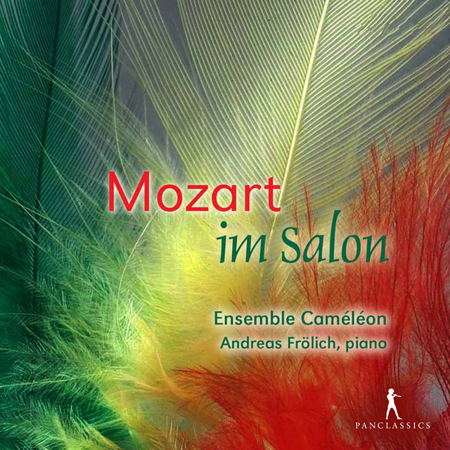 Album cover for Mozart: Works (Arr. for Chamber Ensemble) by Wolfgang Amadeus Mozart, Andreas Frolich, EnsembleCaméléon