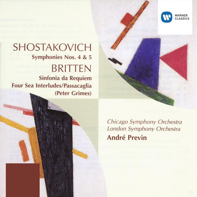 Symphony No. 5 in D minor, Op. 47 I album cover