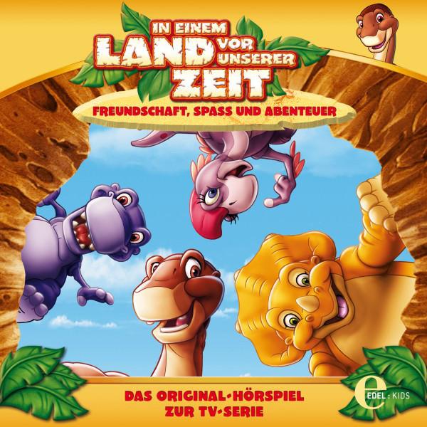 Folge 1: Die Höhle der vielen Stimmen  -  Der verlorene Zahn (Das Original-Hörspiel zur TV-Serie) Cover
