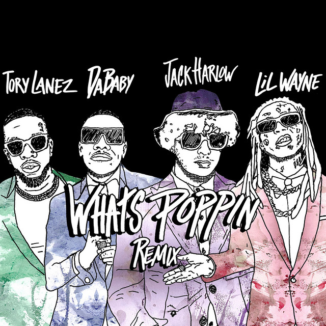 WHAT'S POPPIN (Remix) album cover