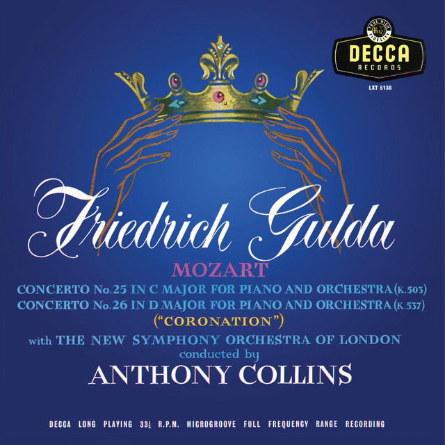 Mozart: Piano Concerto No. 14; No. 25; No.26 'Coronation' (Anthony Collins Complete Decca Recordings, Vol. 2)